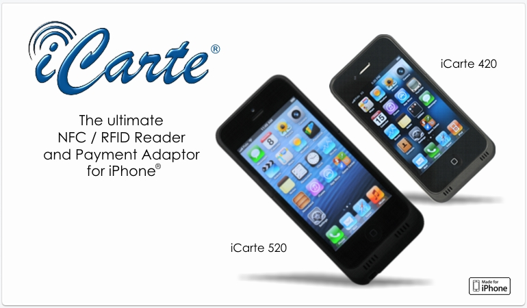 iCarte® - The Ultimate NFC/RFID Reader for iPhone®